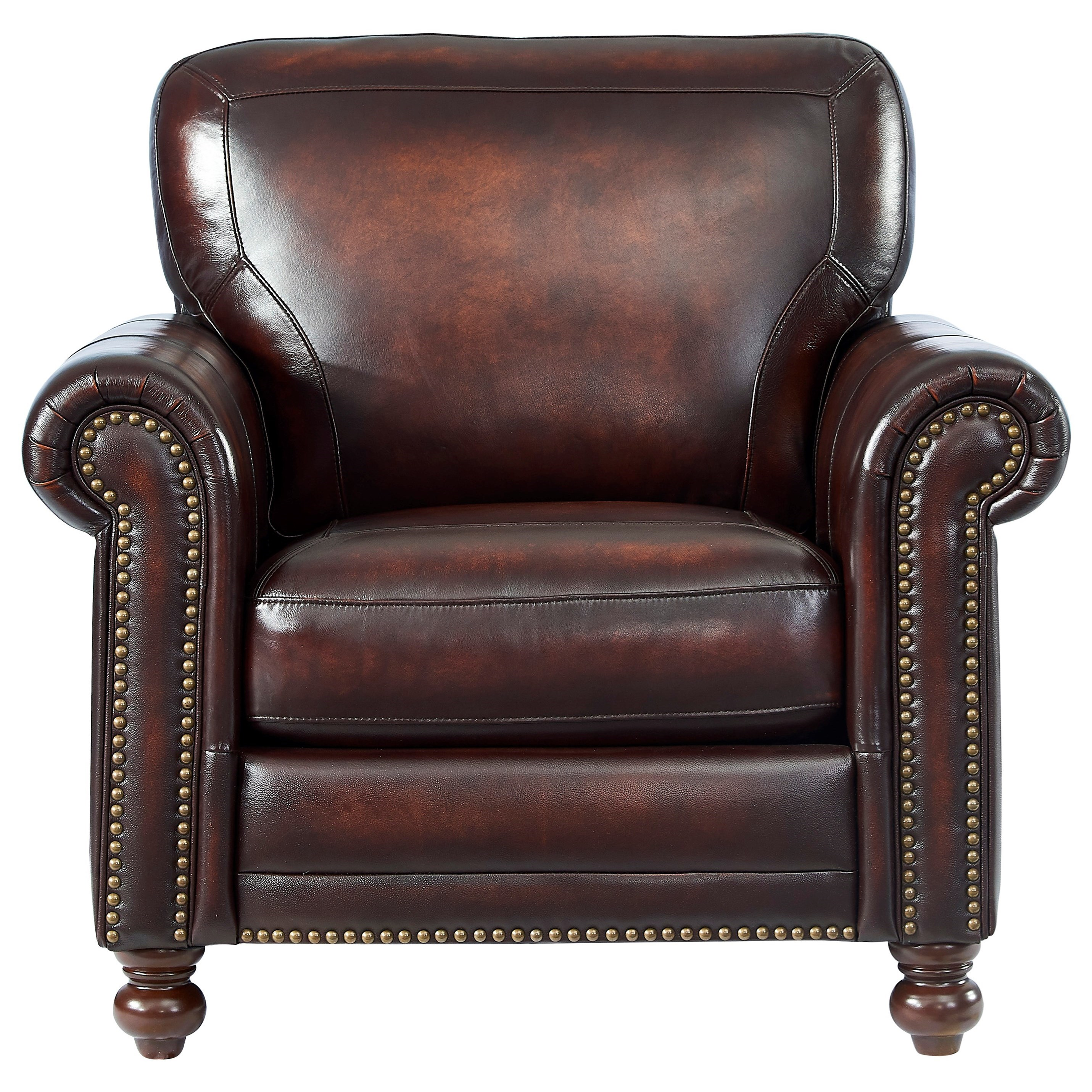 Hampton Chair by Leather Italia USA at Johnny Janosik