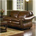 Leather Italia USA Hanover Leather Loveseat - 11144