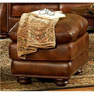 Leather Italia USA Hanover Ottoman