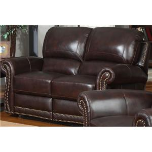 Leather Italia USA James Motion Loveseat
