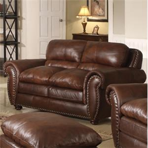 Leather Italia USA Mauro Loveseat