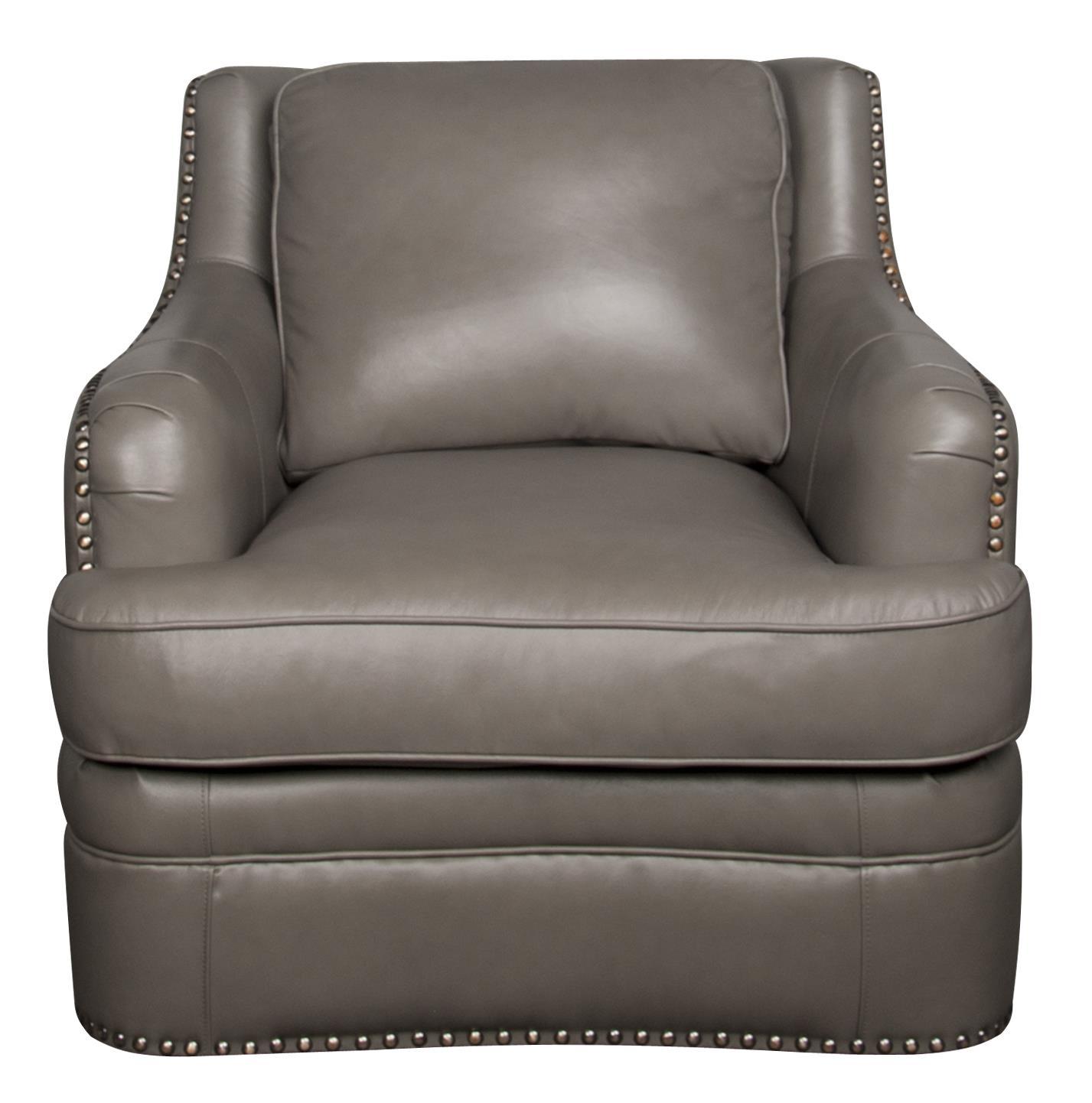 Morris Home Furnishings Maya Maya 100% Leather Chair - Item Number: 700251379