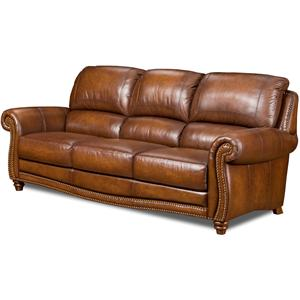 Leather Italia USA Parker Stationary Sofa