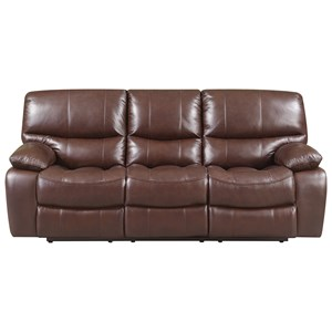 Leather Italia USA Presidential - Hampstead Power Reclining Leather Sofa