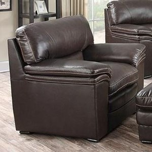 Leather Italia USA Presidential - Mitchell Leather Chair
