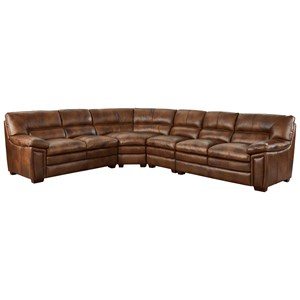 Casual Leather Sectional