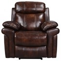 Leather Italia USA Shae - Joplin Leather Power Recliner - Item Number: 1555-2117-CHAIR-1081LV