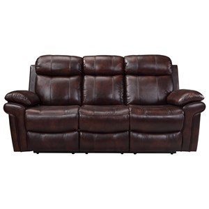 Leather Italia USA Shae - Joplin Power Reclining Leather Sofa