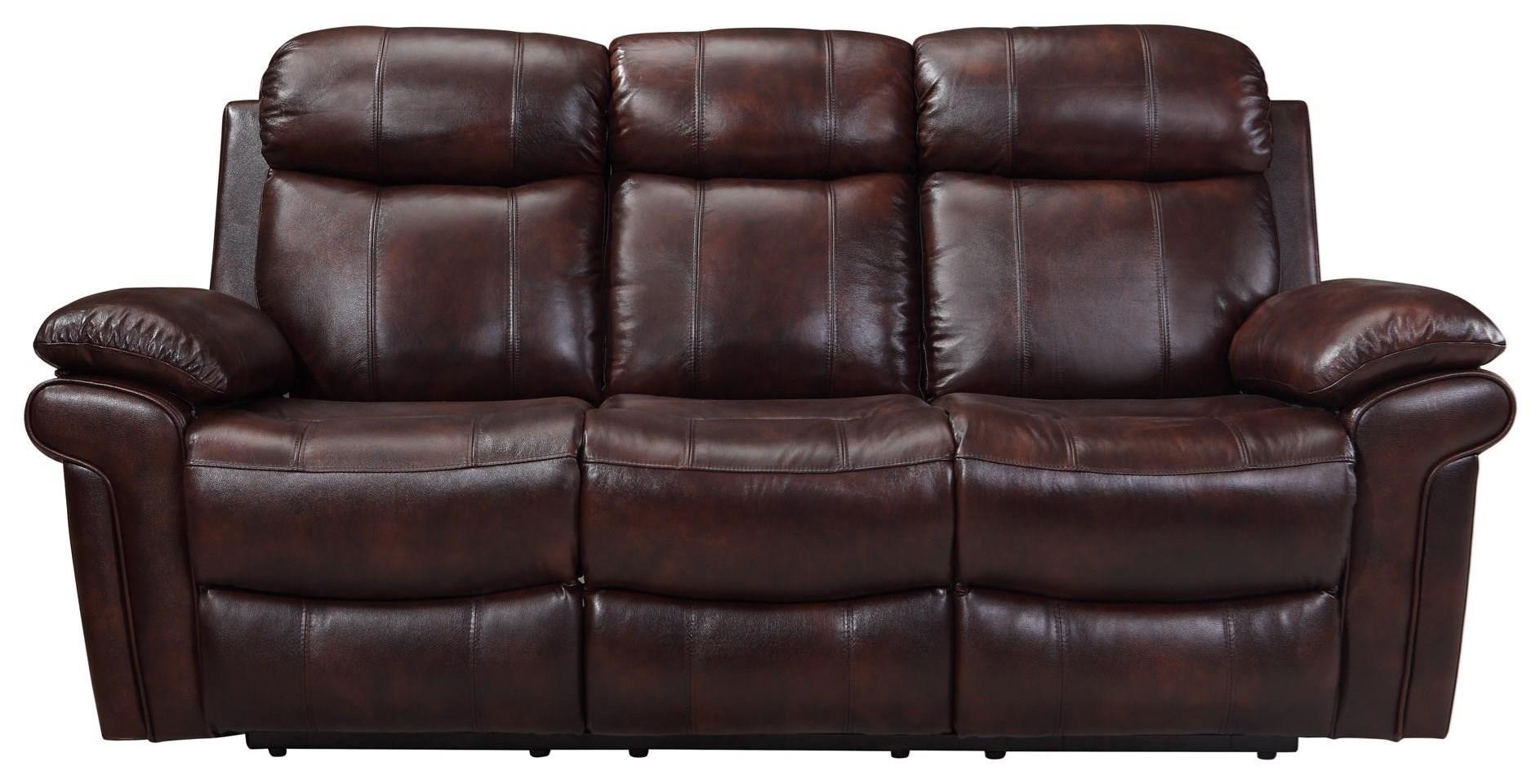 Leather Italia Usa Shae Joplin Power Reclining Sofa