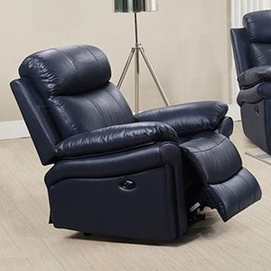 Leather Italia USA Shae - Joplin Leather Power Recliner