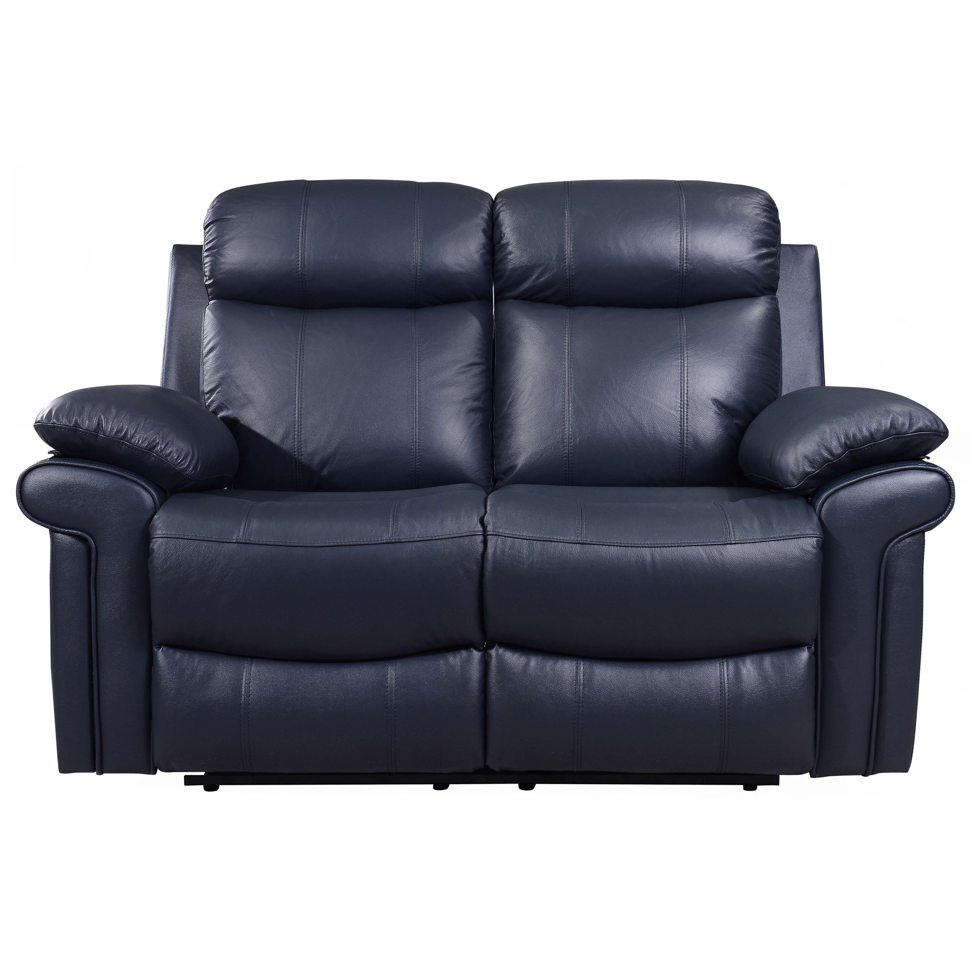 Leather Italia Usa Shae Joplin Power Reclining Leather Loveseat Lindy S Furniture Company Reclining Loveseats