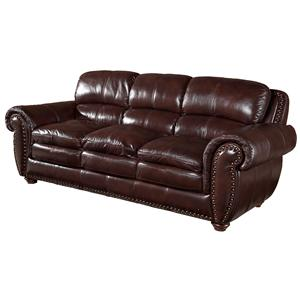 Leather Italia Usa Stationary Sofas Hanover Sofa Moore 39 S Home Furnishings Accent Sofas