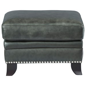 Leather Italia USA Westport - Easton Leather Ottoman