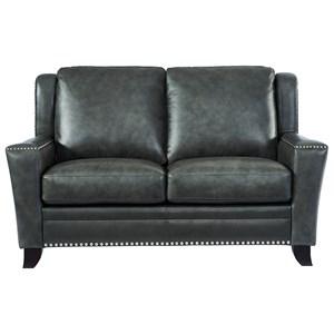 Leather Italia USA Westport - Easton Leather Loveseat