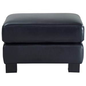 Leather Italia USA Westport - Presley Leather Ottoman