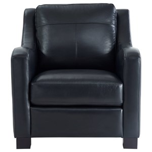 Leather Italia USA Westport - Presley Leather Chair