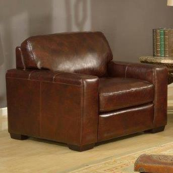 Leather Italia USA Woodburn Chair - Item Number: 2218-01