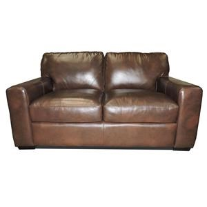 Leather Italia USA Woodburn Love Seat