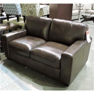 Leather Italia USA Woodburn Love Seat