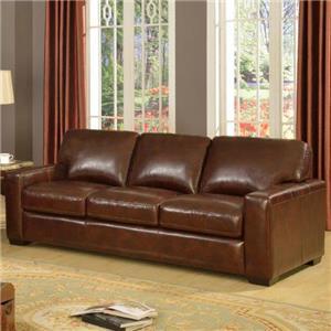 Leather Italia USA Woodburn Sofa