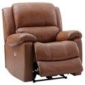 Leather Italia USA XAN Power Reclining Chair - Item Number: 1669-E1716-01177136
