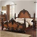 Lee Furniture Freemont King Post Bed - Item Number: BD011KPB