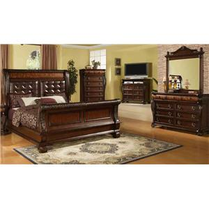 Hemingway 5 Piece Queen Bedroom Group by Lee Furniture