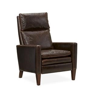 Lee Industries Lee Furniture Leather Relaxor - Citation Chocolate Leather