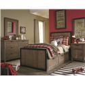 Legacy Classic Twin Panel Bed Night Stand - Item Number: 5900-3100