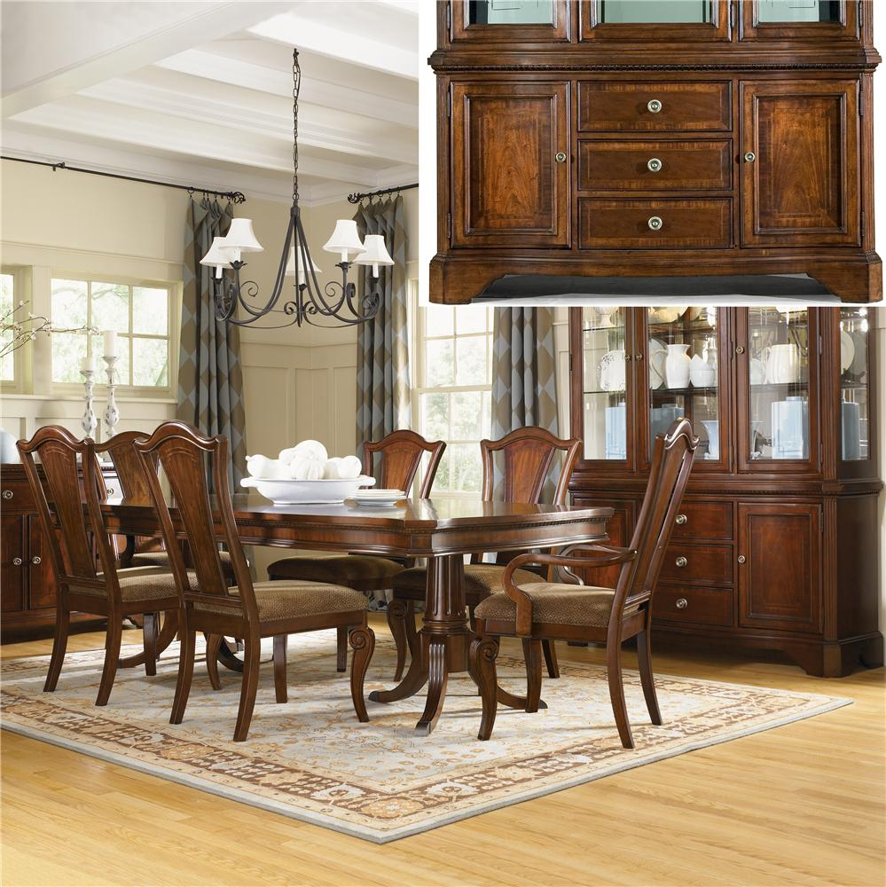 Legacy Classic American Traditions 8Pc Dining Room - Item Number: 93508PC
