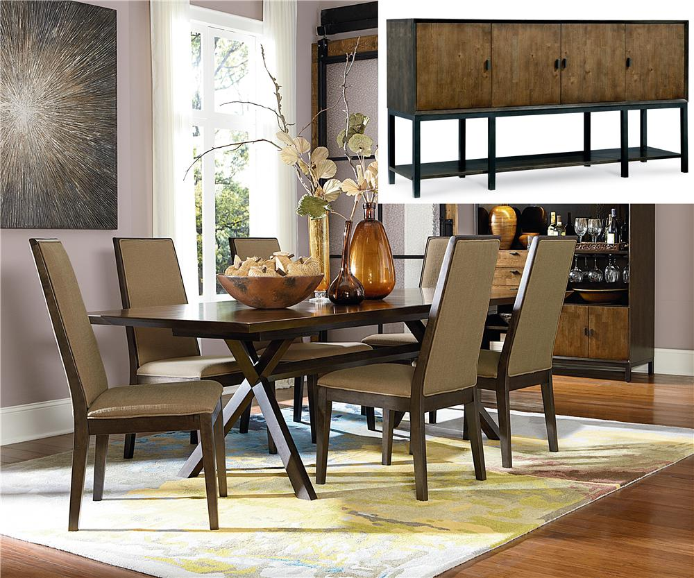 Legacy Classic Kateri 8-Piece Dining Set - Item Number: 3600-622+4x340+180