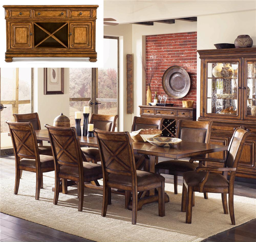 Legacy Classic Larkspur 8Pc Dining Room - Item Number: 9318Pc