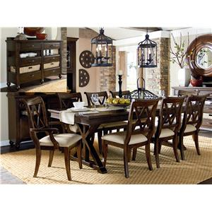 Legacy Classic Thatcher 8Pc Dining Room Group