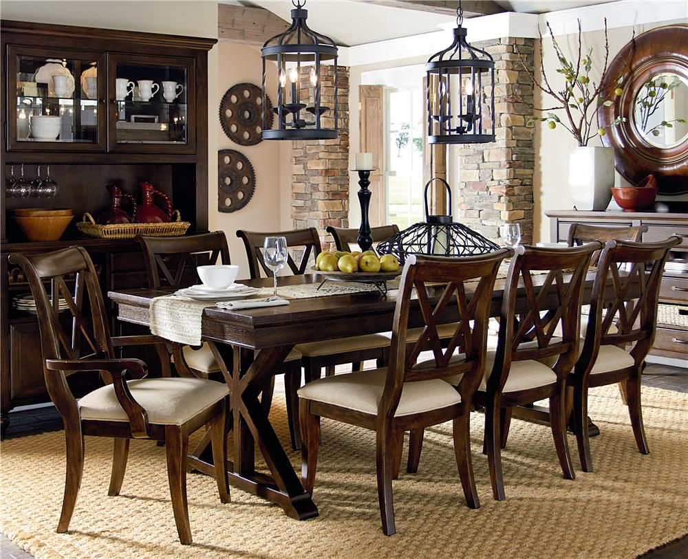 Wayside Dining Room Furniture: Legacy Classic Thatcher 7Pc Dining Room