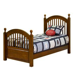 Legacy Classic Kids American Spirit Twin Low Post Bed