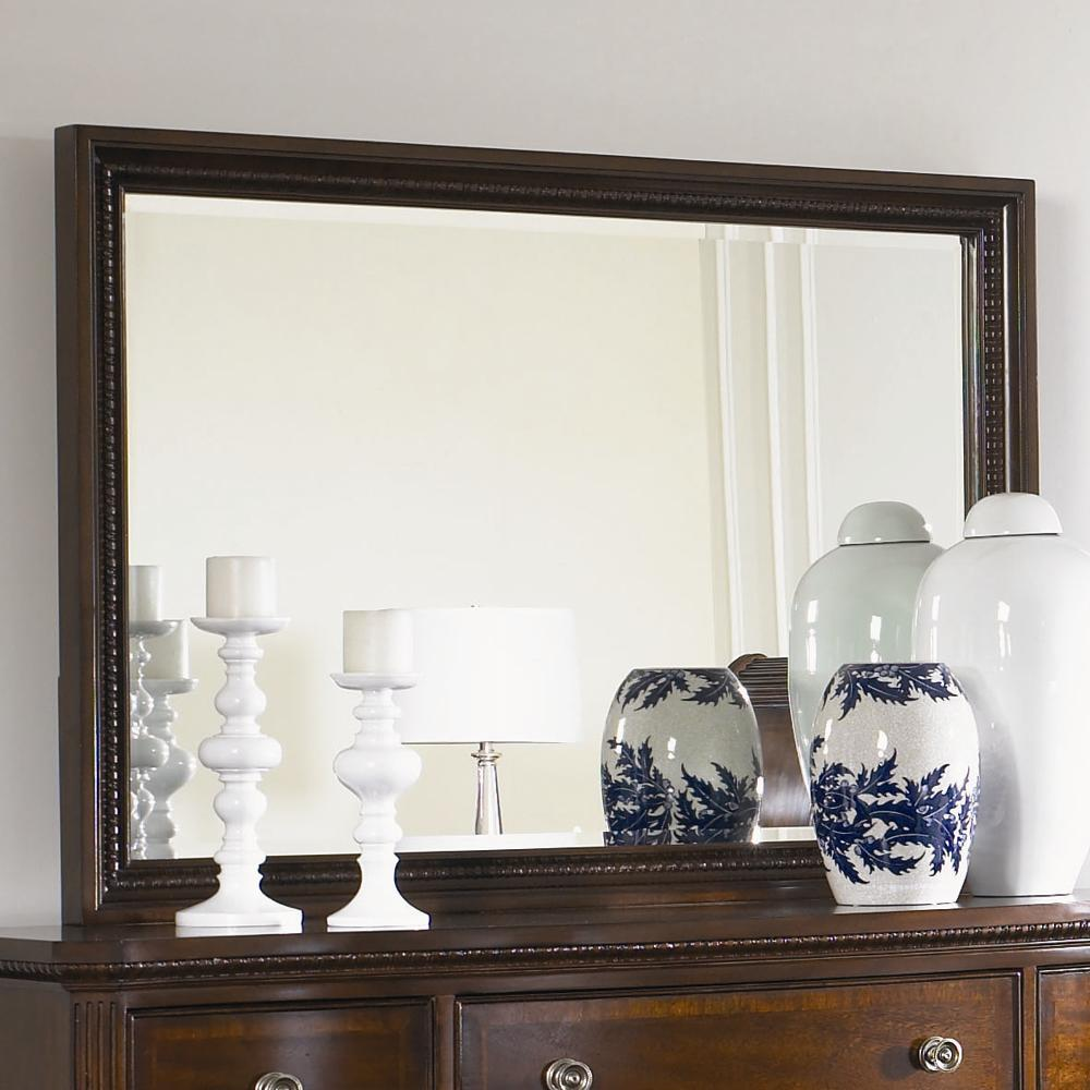 American Traditions Rectangular Landscape Mirror by Legacy Classic at Pilgrim Furniture City