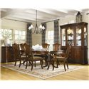 Legacy Classic American Traditions 7Pc Dining Room - Shown with China Cabinet