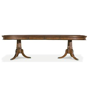 Legacy Classic American Traditions Double Pedestal Dining Table
