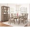 Legacy Classic Apex Formal Dining Room Group - Item Number: 7700 Dining Room Group 3