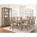 Legacy Classic Apex Formal Dining Room Group - Item Number: 7700 Dining Room Group 4