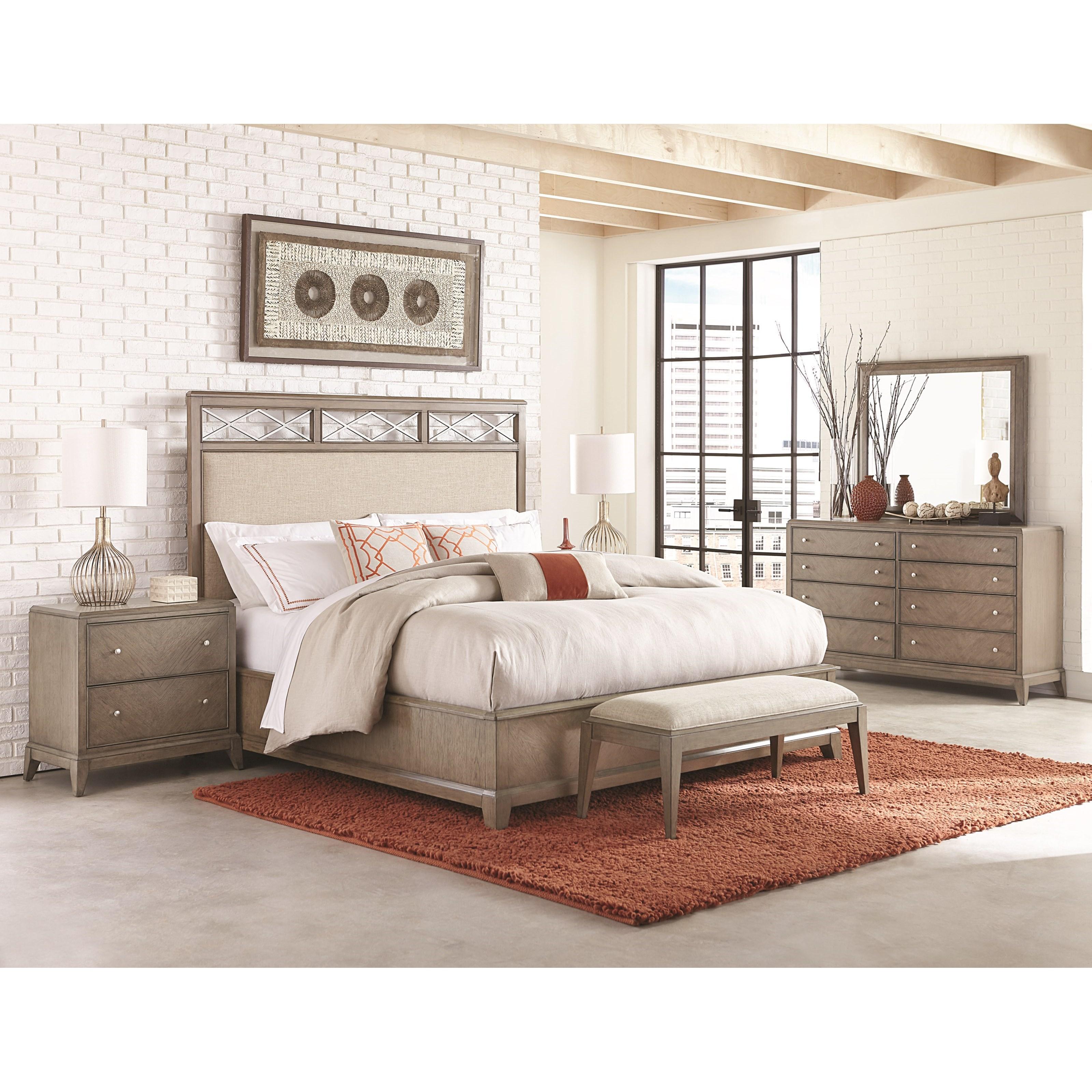 Legacy Classic Apex Queen Bedroom Group - Item Number: 7700 Q Bedroom Group 1