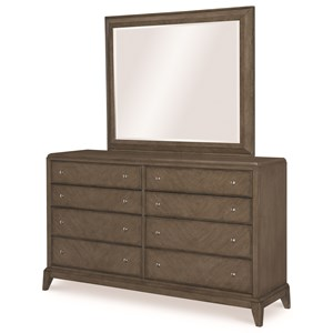 Legacy Classic Apex Dresser and Mirror Set