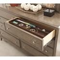 Legacy Classic Apex Contemporary Dresser and Mirror Set