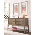 Legacy Classic Apex Contemporary Sideboard with Bottom Shelf