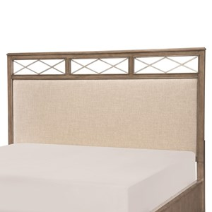 Apex Queen Upholstered Platform Headboard by Legacy Classic