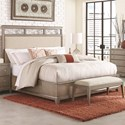 Legacy Classic Apex Queen Upholstered Platform Bed