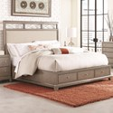 Legacy Classic Apex Queen Upholstered Platform Bed with Storage