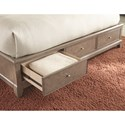 Legacy Classic Apex King Upholstered Platform Bed with Storage