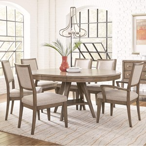 Legacy Classic Apex 7 Piece Round Table and Chair Set