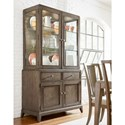 Legacy Classic Apex China Cabinet with 3-Way Touch Lighting